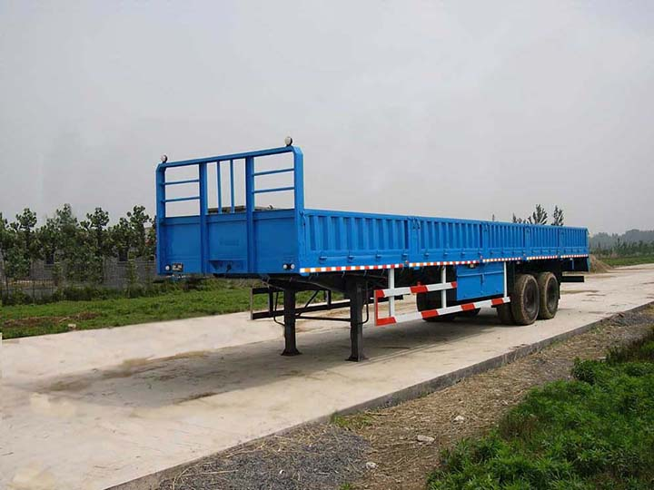 Curtain Side Trailers Made By Zhuowei Truck Trailer Manufacturer