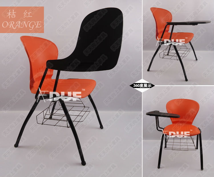 Commercial Class Room Chair With Tablet Arm School Stack Chairs With  Writing Tablets