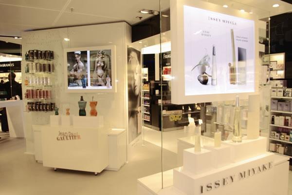High End Modern Perfume Retail Shop Counters For Perfume
