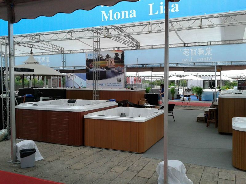 Outdoor spa manufacturers hot sale endless pool buy for Above ground pool manufacturers