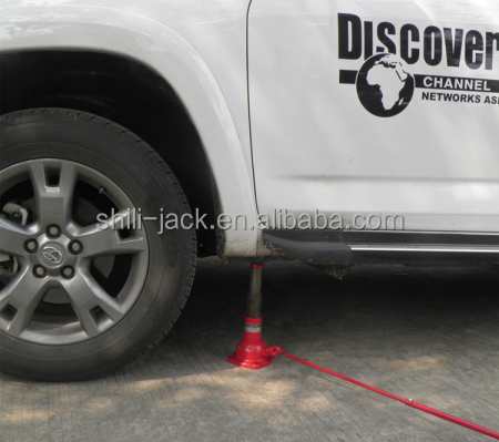 ST-107T 2ton screw bottle jack, car bottle jack