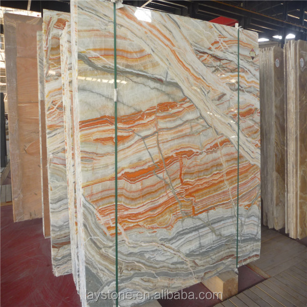Types Of Onyx : Decorative red types of marble onyx slab buy