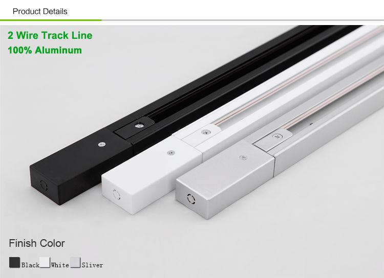 how to cut track lighting rail
