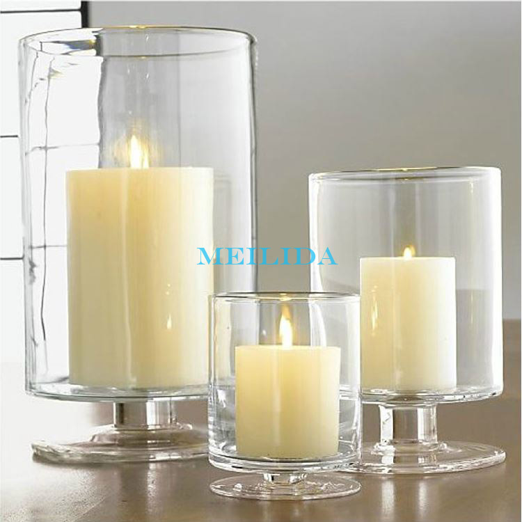 Clear tall bulk glass votive candle holder for wedding for How to make glass candle holders