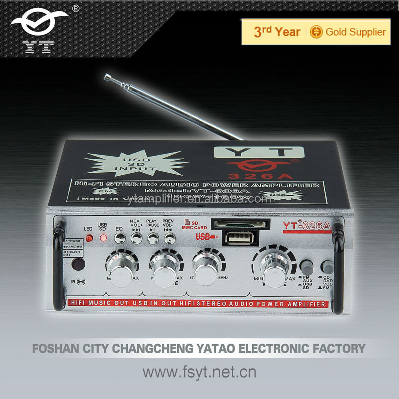 Car Audio Amplifier Yt-326a Professional Manufacturer In China ...