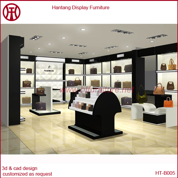 Shenzhen & Guangzhou factory bags shop interior design