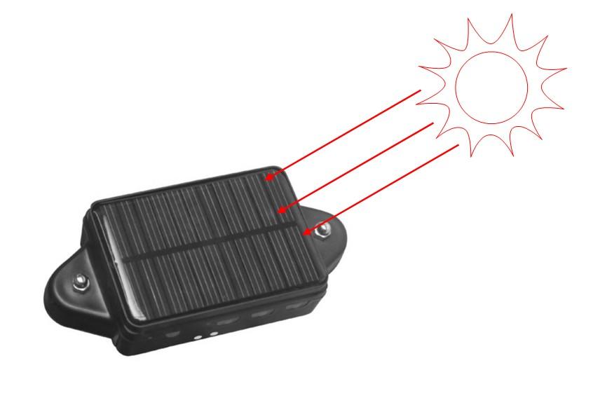 Gps Tracker With Solar Power & Waterproof & Magnet Pin Cctr-808s - Buy Gps  Tracker Cctr-808s,Waterproof Solar Panel Gps Tracker,Imei Online Gps