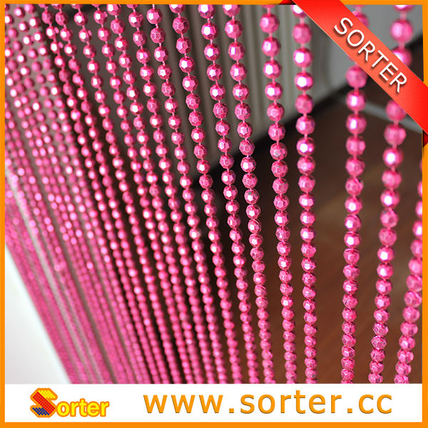 Decorative Plastic Beaded Door Curtains For Room Decor Or