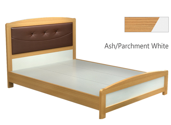 Gcon teak wood bed frame indian wood double bed designs for Round double bed design