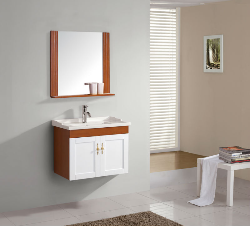 Foshan china foto high quality washbasin with solid wood cabinet design   Foshan China Foto High. Wash Basin With Wooden Cabinet