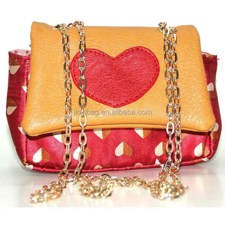 Hot Selling Fancy Little Girls Purses With Chain Strap - Buy Little ... 60c4154abc88b