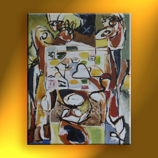 excellent abstract oil painting house decorative cx-41