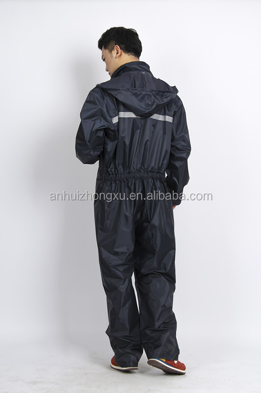 Camouflage Military Oxford Waterproof Rubber Fishing Suit