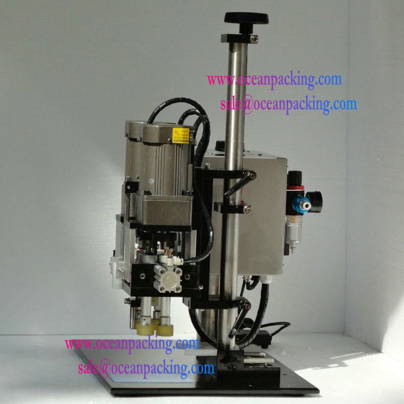 manual electric screw plastic bottle capping machine