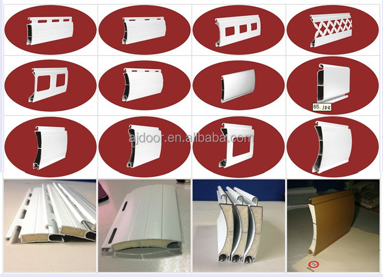 aluminum  roll up door and windows shutter