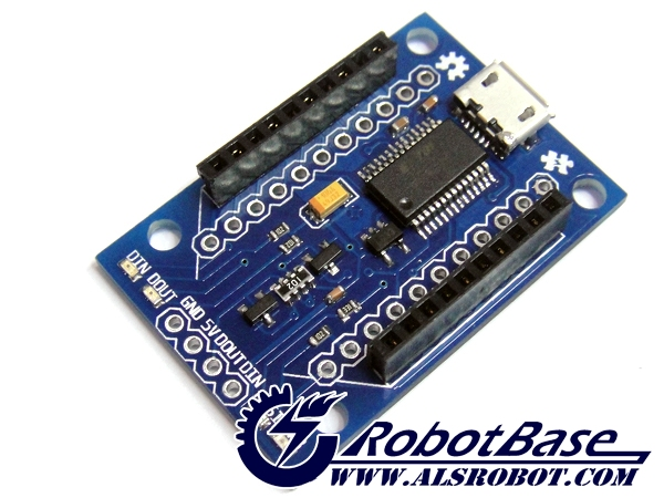 ALSRobot XBee Explorer USB Shield Zigbee Communication USB Module