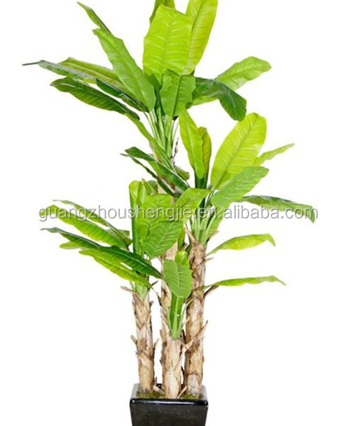 Artificial Plants And Trees/artificial Banana Tree Indoor Home ...