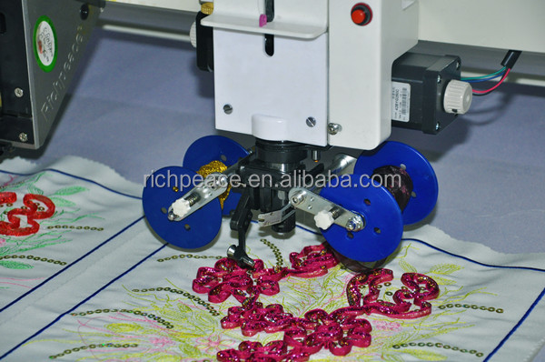 Richpeace Computerized Mixed Coiling Embroidery Machine