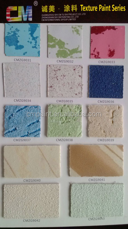 Water Based Decorative Outdoor Rough Spray Natural Stone Texture