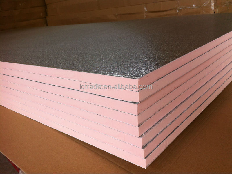 Fire Resistant Insulation : Exporting phenolic foam insulation board with aluminium