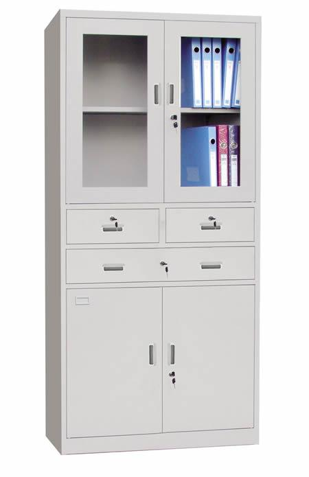 Lovely Modern Office Furniture Metal Bookcase File Cabinet