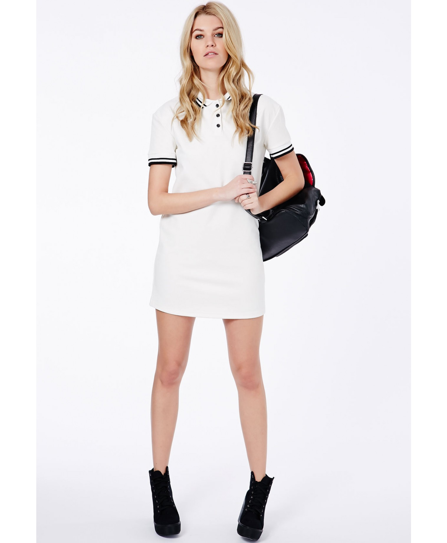 cf855352094 2016 pure cotton polo dress for women white color pipue tee dress wholesale  custom polo shirt