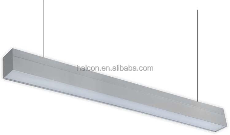 3 Years Warranty High Lumen 20w Modern Office Aluminum Led Linear ...