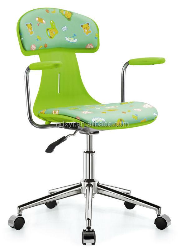 Color rosa silla de oficina de malla con movable asiento for Sillas de oficina infantiles