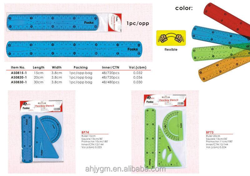 Plastic Flexible Stencil/plastic Shape Stencils/drawing Stencils ...