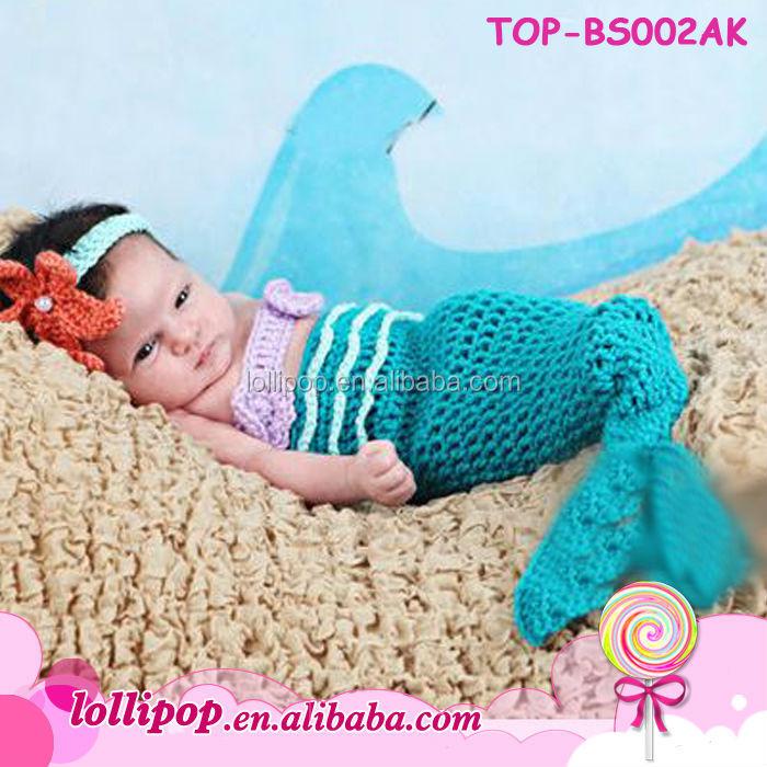 Asombroso Bebé Patrón De Ganchillo Traje De Sirena Ideas - Manta de ...