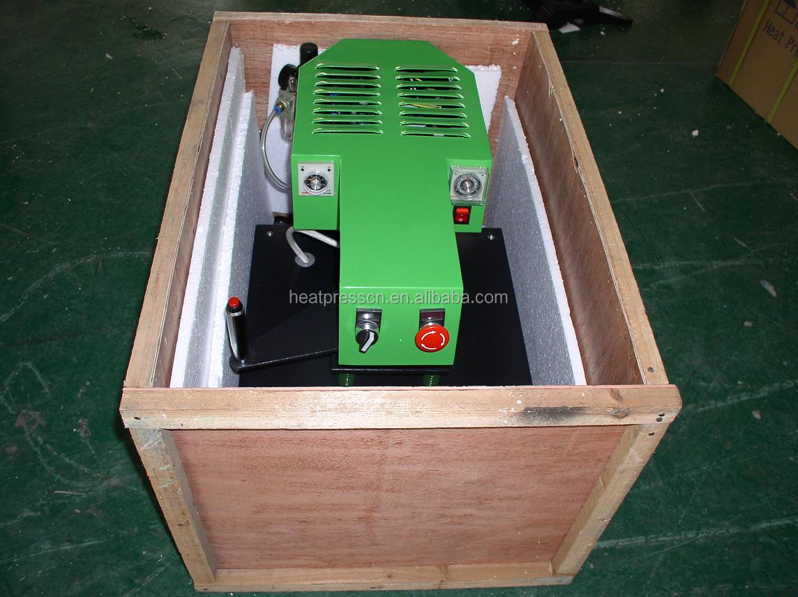 drawer type design Pneumatic heat press machine
