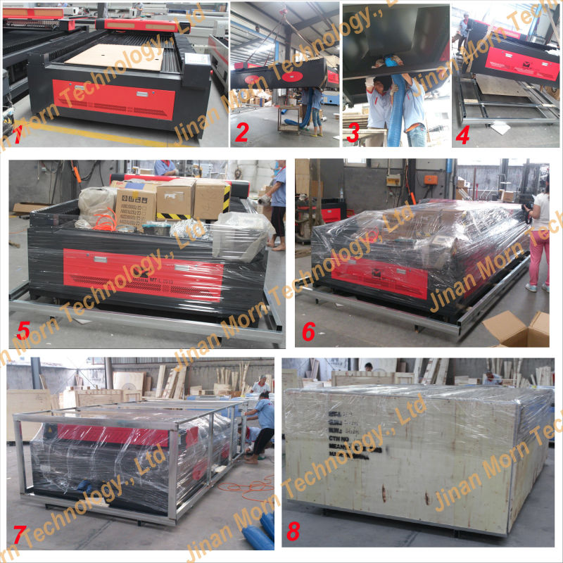 150w large format co2 laser engraving machine