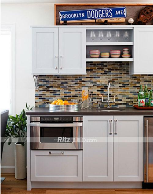 free design for mini kitchenette,shaker style small kitchen,small