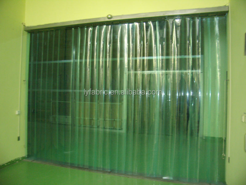 PVC Material Flexible Pvc Strip Door Curtain For Cold Room/EU Standard