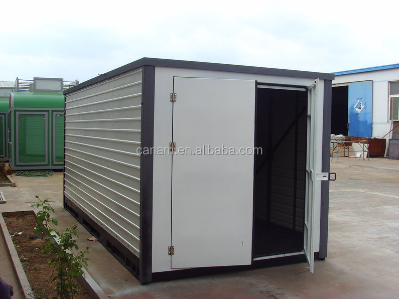Mobile container house for coffee kiosk