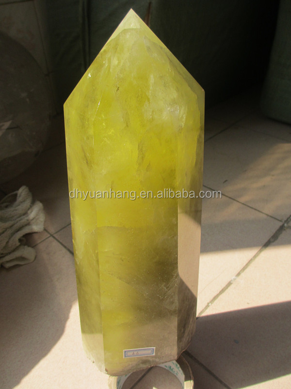 6.6kg Cheap Hot Sale Smoky Citrine Quartz Point For Sale In Stock ...