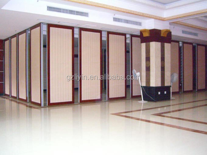 Soundproof Sliding Acoustic Partition For Conference Room