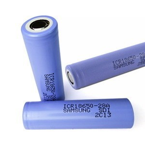 Icr 18650 28a Samsung Lithium Ion Battery Cell 18650 / 2800mah 3.7 ...