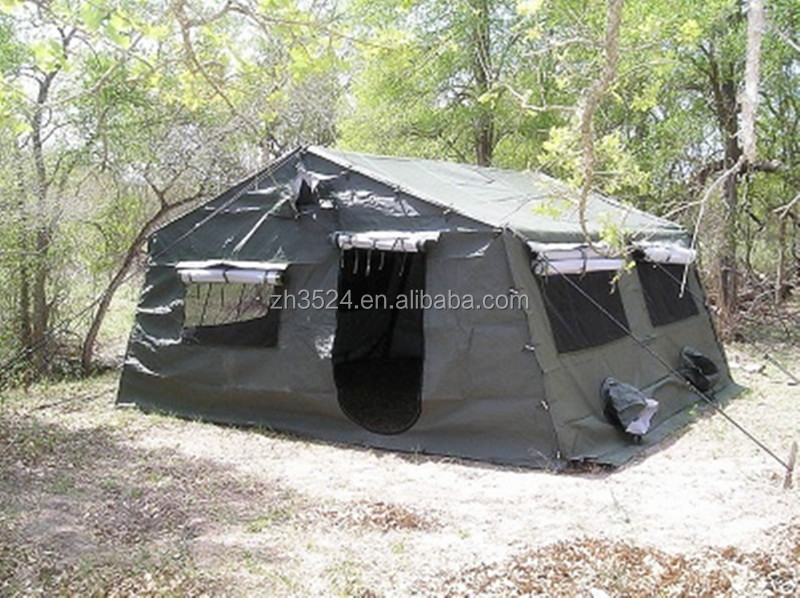 Canvas military tent buy military tents used military for A frame canvas tents for sale