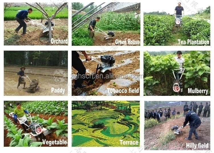 different types of farming