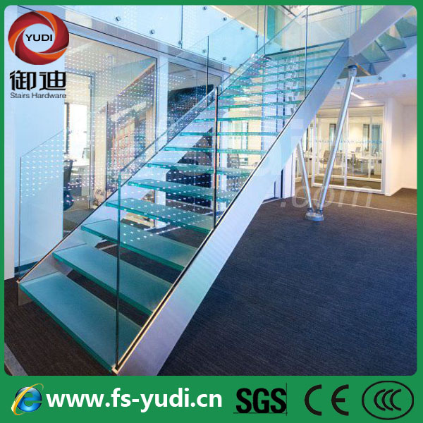 Cheap Stainless Steel Exterior Portable And Prefabricated Glass Stairs  Design Supplier From Alibaba