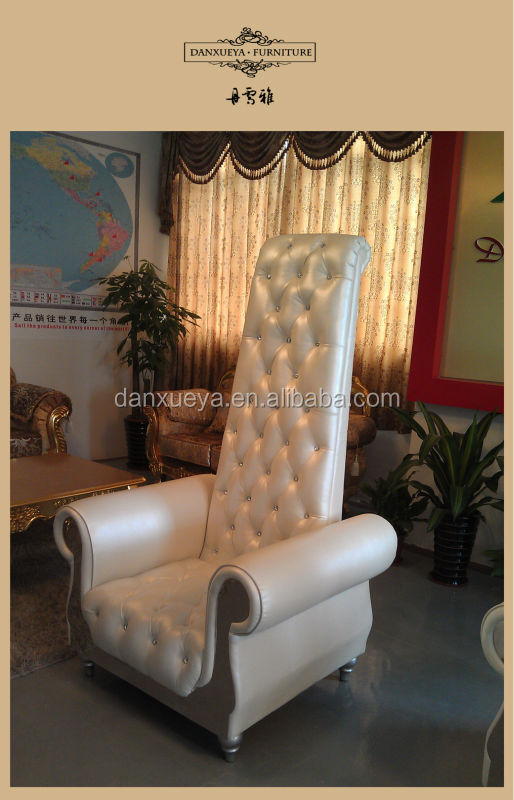 Simple High Back Sofa Chair Elegant Single Seater With Seat Sofas