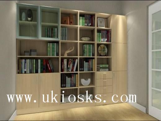 MDF Cheap Wooden Bookcase,book Cabinet,design In Book Shelf Cabinet