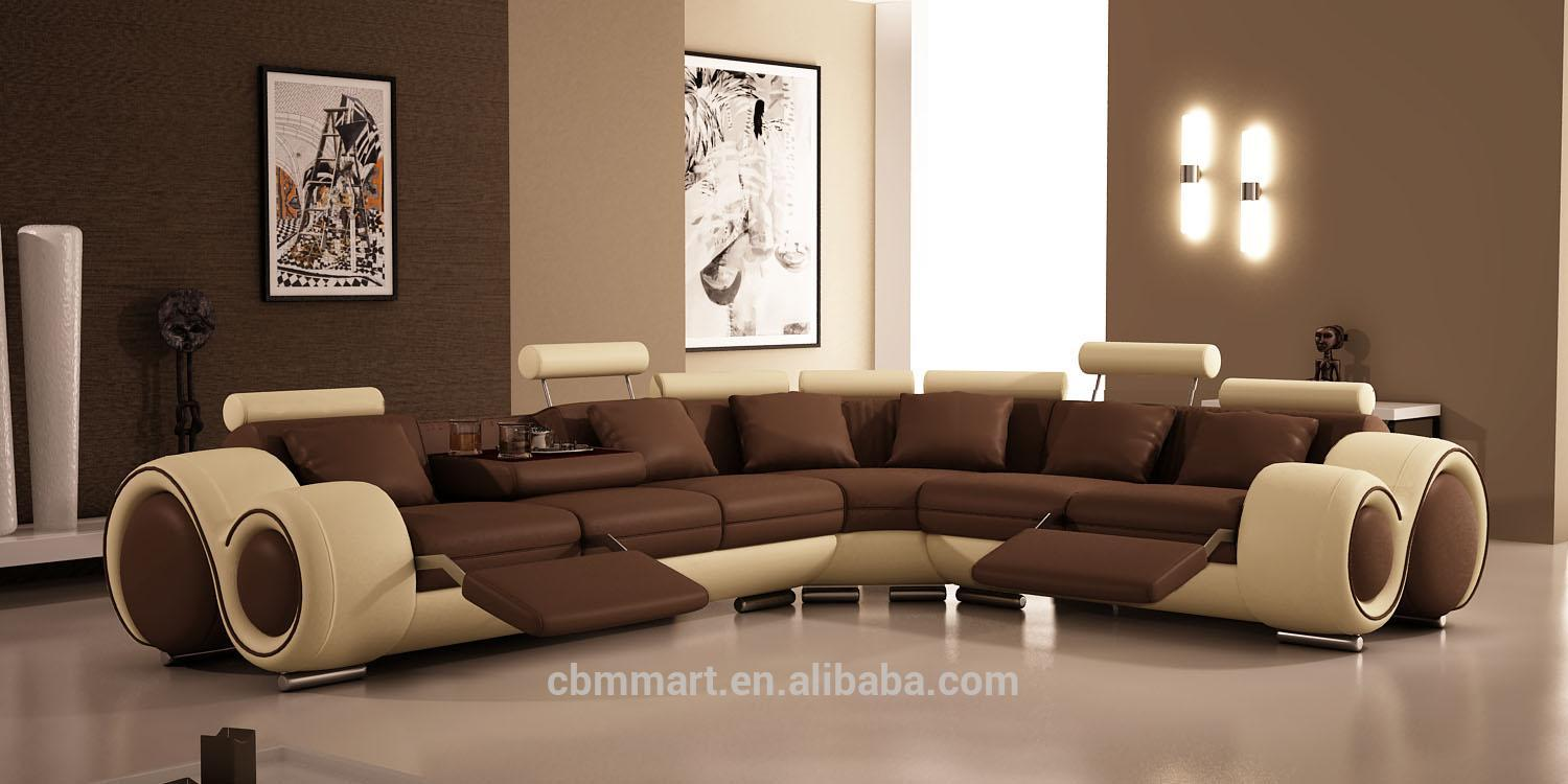 A07 Big White Leather Corner Sofa - Buy White Genuine Leather Sofa ...