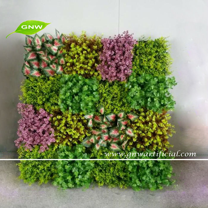 Exceptional GNW GLW077 Artificial Green Plastic Plants Fake Vertical Garden Living Wall  Indoor Landscaping