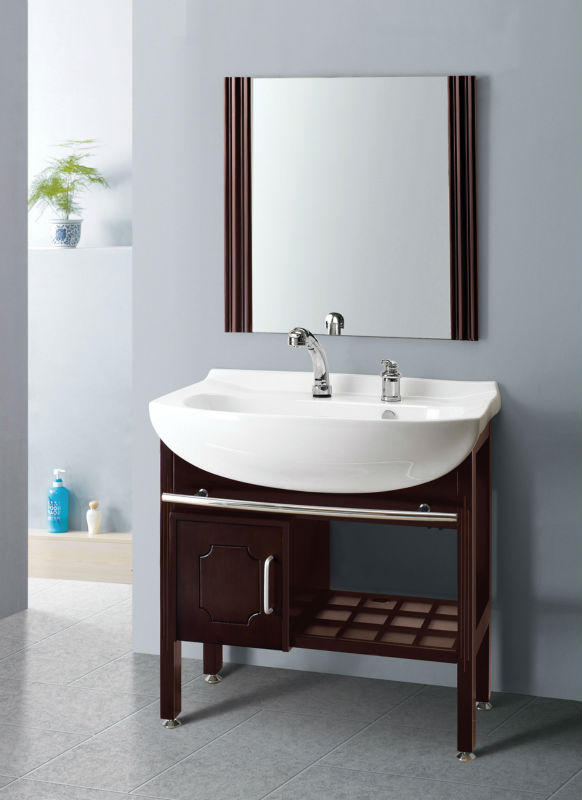 China Supplier With Modern White Italian Mdf Bathroom Cabinet ...