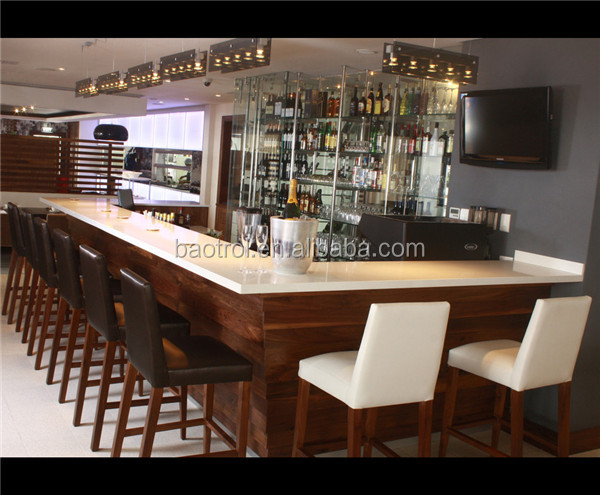 russia popular commercial bar counter wood bar counter. Black Bedroom Furniture Sets. Home Design Ideas