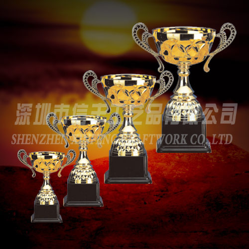 Clear big plastic trophy cup