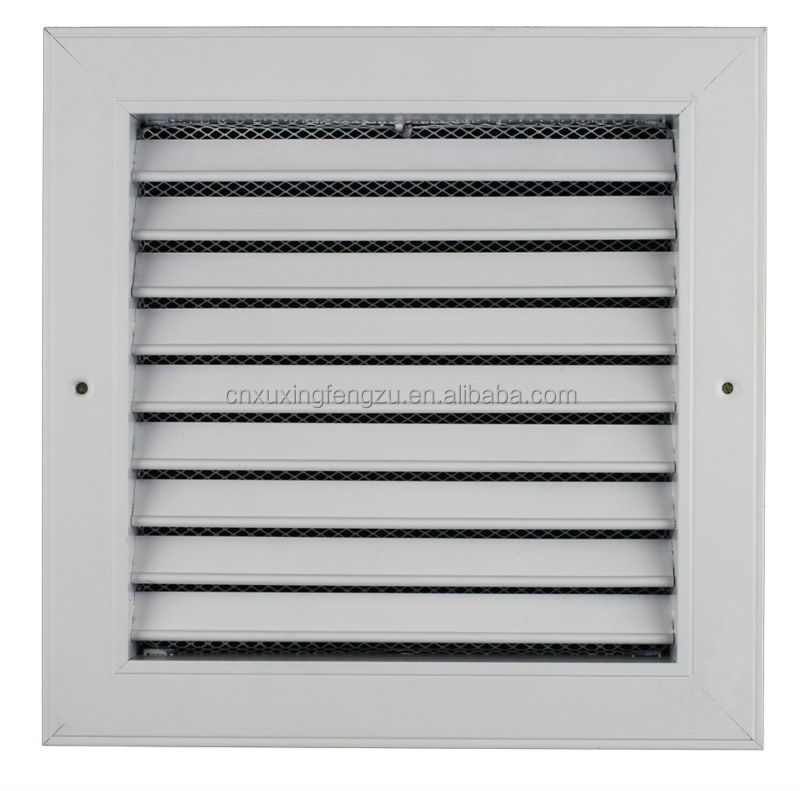 Hvac Return Air Grill : Hvac square return grille filter louvers buy