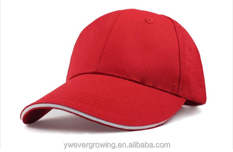 Promotional OEM Design your own Baseball Caps sandwich cheap baseball caps  without logo f824c3da57a